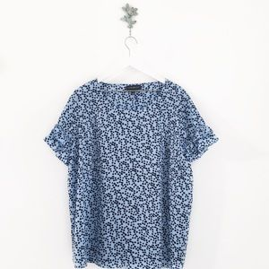 LANE BRYANT Spotted Print Ruffle Sleeve Top 22